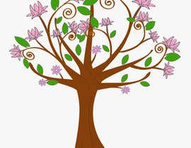 #36 for Wall decal design - Trees and Flowers af Simo23