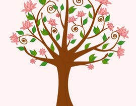 #57 untuk Wall decal design - Trees and Flowers oleh Simo23