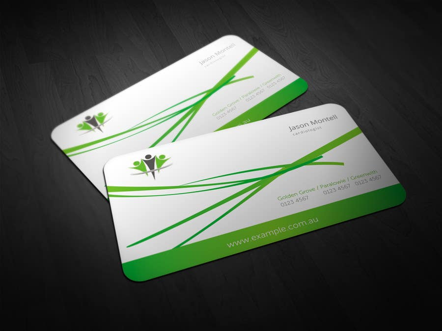 #44 for Medical Practice Business Card Design by aries000