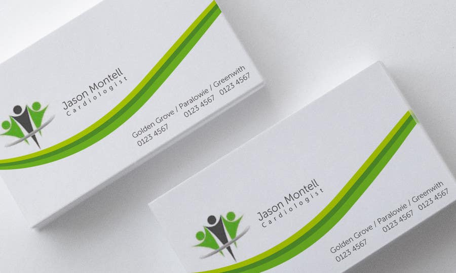 #47 for Medical Practice Business Card Design by aries000