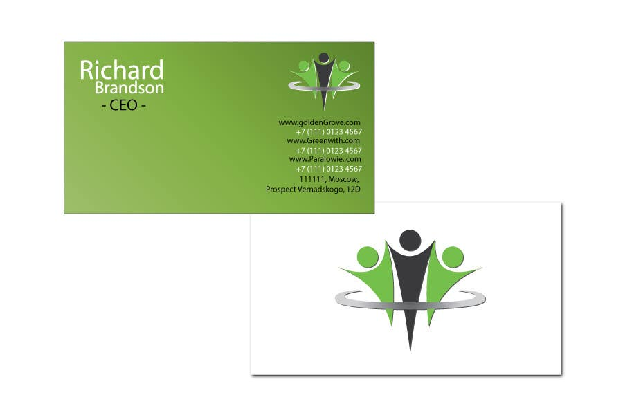 Penyertaan Peraduan #3 untuk Medical Practice Business Card Design