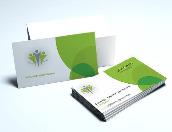 Penyertaan Peraduan #40 untuk Medical Practice Business Card Design