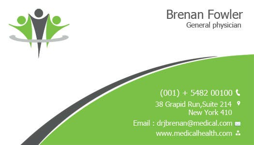 #20 for Medical Practice Business Card Design by mydZnecoz