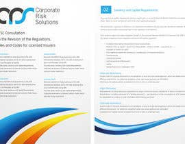 #18 para Design a template for our corporate publications por bluedartdesigner