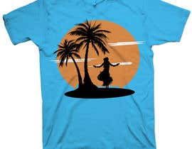 nº 20 pour Design a T-Shirt for Hula dancing event par mckirbz
