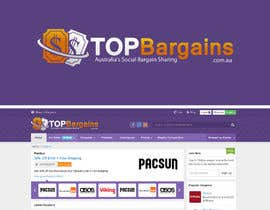 #22 para Design a Logo for TopBargains por alexandracol