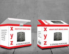 designbahar tarafından Designing packaging box for brake liners için no 17