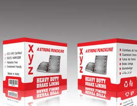 designbahar tarafından Designing packaging box for brake liners için no 30
