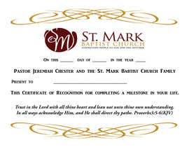 Nro 18 kilpailuun Graduation Certificate käyttäjältä janetcobb