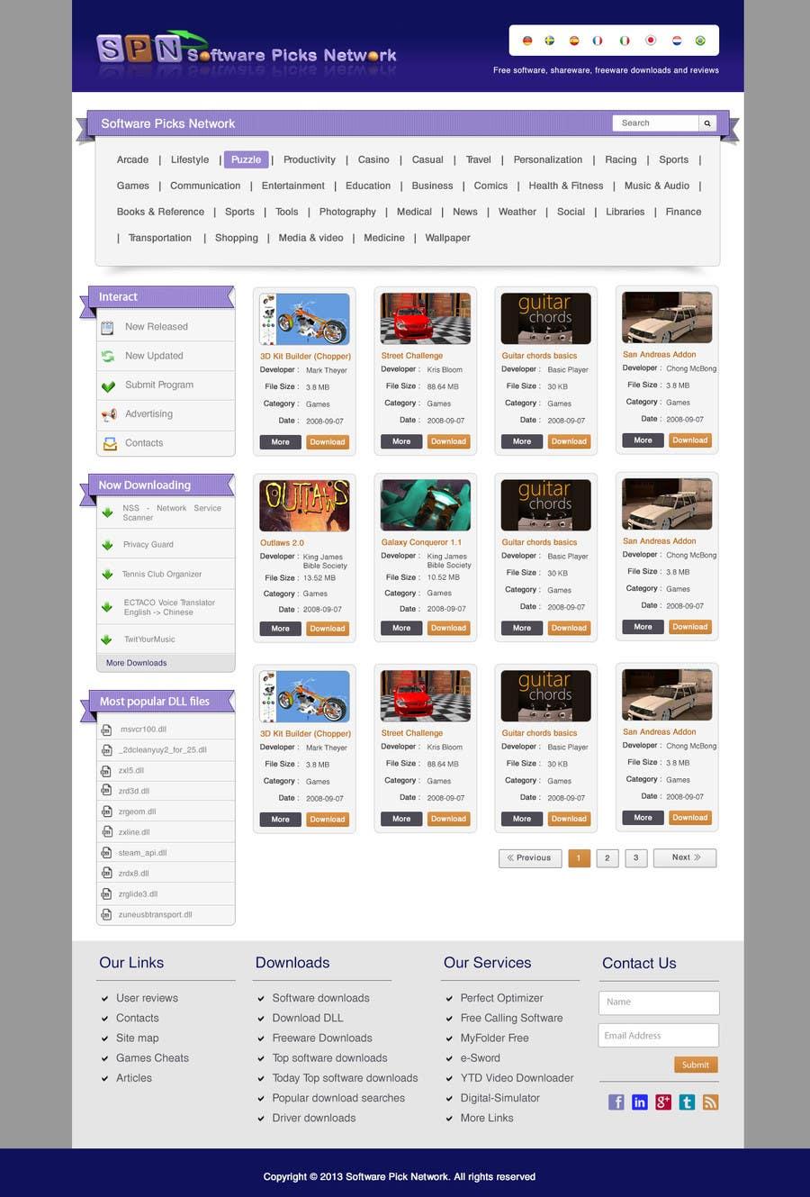 Bài tham dự cuộc thi #                                        7                                      cho                                         Enhancement of current website template
