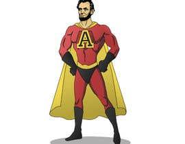 Nro 5 kilpailuun Abraham Lincoln superhero action figure käyttäjältä Patbanzer
