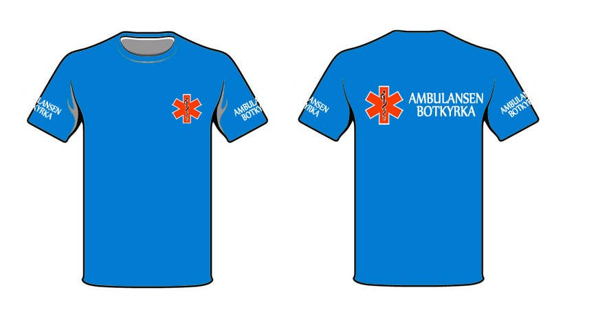"Bài tham dự cuộc thi #38 cho Designa en t-shirt for ""Ambulansen Botkyrka"""