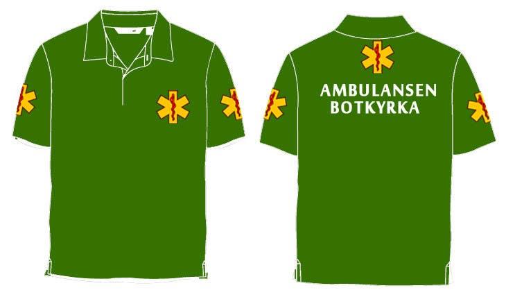 "Proposition n°39 du concours Designa en t-shirt for ""Ambulansen Botkyrka"""