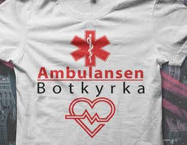 "#25 for Designa en t-shirt for ""Ambulansen Botkyrka"" by HeshamMoawad"