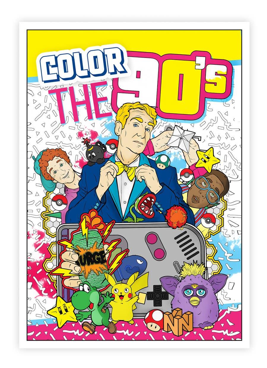 Kilpailutyö #18 kilpailussa Need Coloring Book Cover