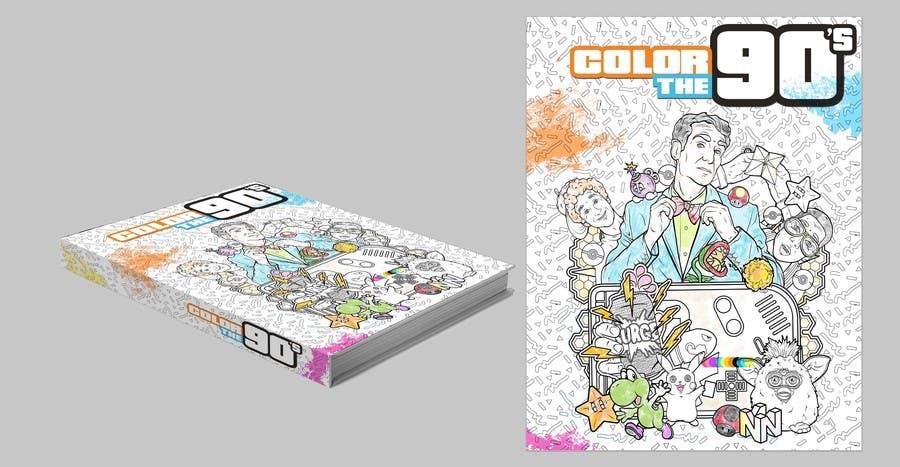 Kilpailutyö #17 kilpailussa Need Coloring Book Cover