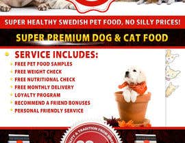 mentorsh tarafından Design a Flyer for our Petfood Business için no 27
