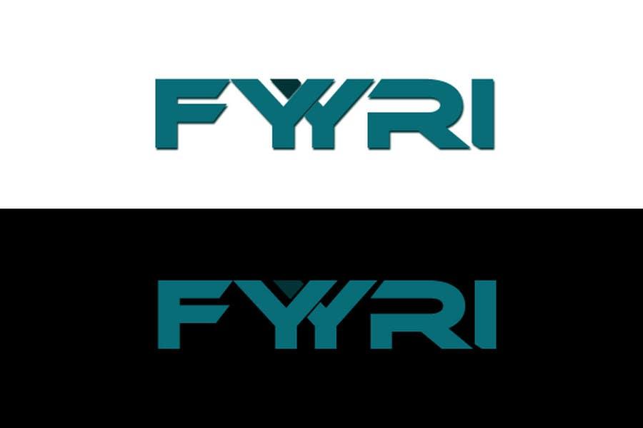 """Intrarea #142 pentru concursul """"Logo Design for Fyyri"""""""