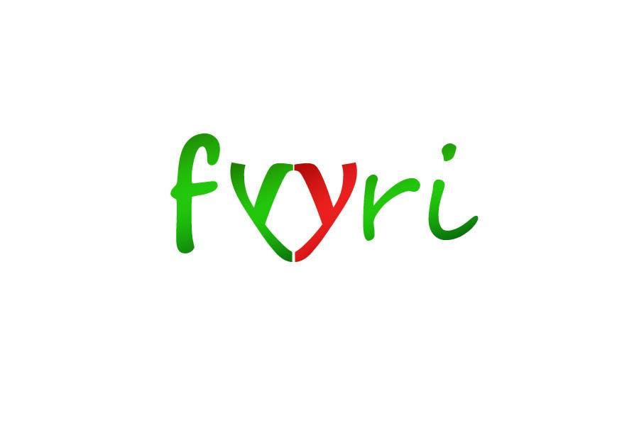 """Intrarea #138 pentru concursul """"Logo Design for Fyyri"""""""