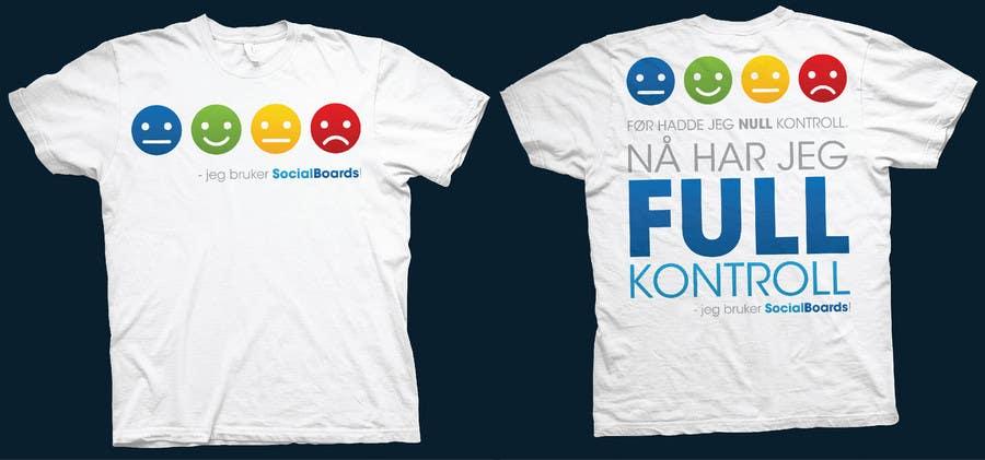 Penyertaan Peraduan #                                        19                                      untuk                                         T-shirt Design for SocialBoards