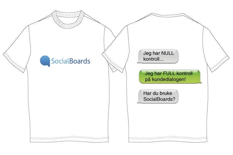 Penyertaan Peraduan #                                        12                                      untuk                                         T-shirt Design for SocialBoards