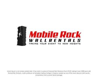 designpoint52 tarafından Design a serious Logo for a Mobile rock climbing company. için no 60