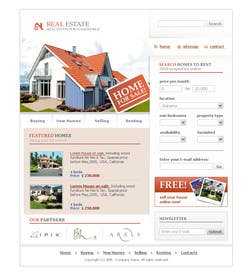 Graphic Design Contest Entry #11 for Build a Website for Real Estate Company