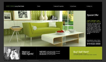 Graphic Design Contest Entry #41 for Build a Website for Real Estate Company