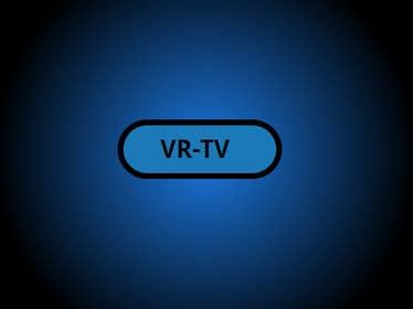 "smartcodr tarafından Design text as well as icon, logo for ""VR-TV"" için no 33"
