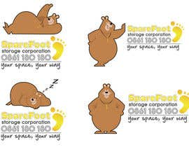 TimSlater tarafından Company Character/Mascot Design - Illustration design for Sparefoot Storage Co. için no 48