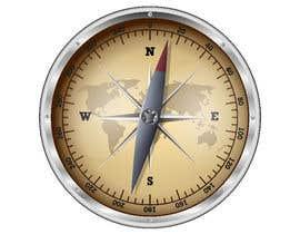 Nro 1 kilpailuun Compass illustration käyttäjältä suhailsheikh7