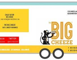 #17 for Design some Business Cards for the Big Cheeze food truck af sicortesjr