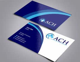 #8 para Design some Business Cards for ACH por ezesol