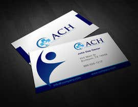#48 para Design some Business Cards for ACH por burgerdesign1