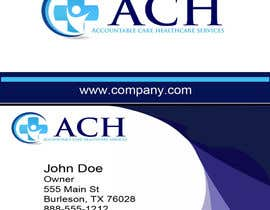 #55 for Design some Business Cards for ACH af goez60