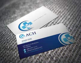 #9 for Design some Business Cards for ACH af shyRosely