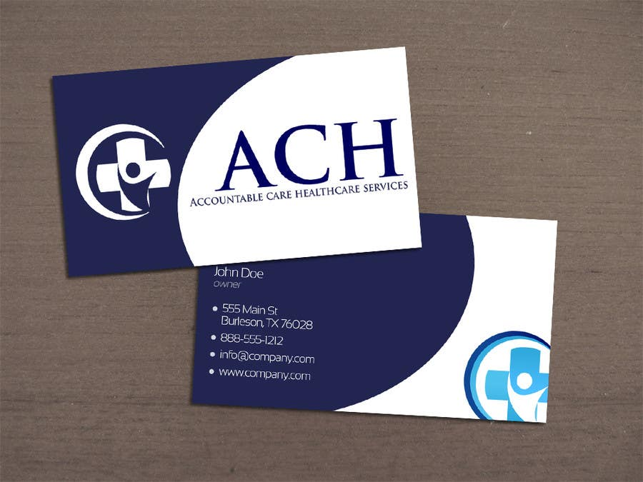 Proposition n°46 du concours Design some Business Cards for ACH