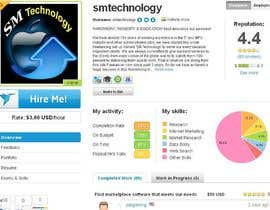 #22 pentru Complete your brand NEW Freelancer.com Profile! de către smtechnology