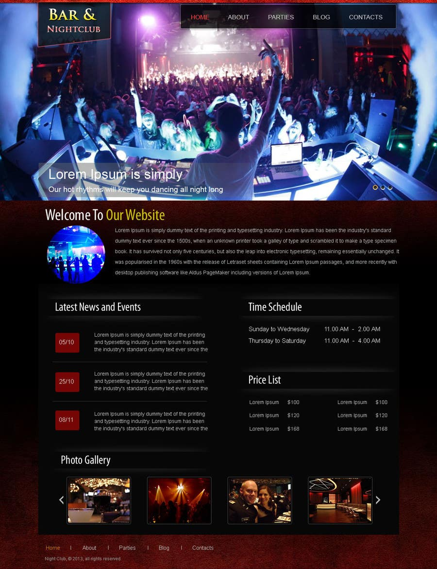 #12 for Build a Website for Bar & Nightclub Reviews by web92