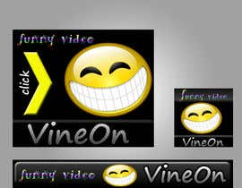 nº 4 pour Design a Banner for funny video website par MarinkAlex