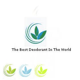 #4 para New Natural Logo Design For An All Natural Organic Deodorant por cristinandrei
