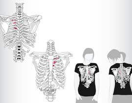 #2 para Pregnant Skeleton T-shirt Design por GeorgeOrf