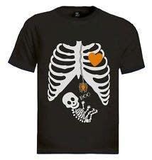 #11 for Pregnant Skeleton T-shirt Design by nextstep789123