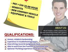 sasasugee tarafından Design a Job Wanted Ad - HVAC Service Technician için no 2