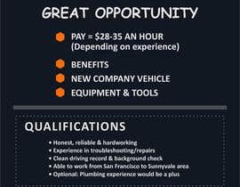 Carlito36 tarafından Design a Job Wanted Ad - HVAC Service Technician için no 5
