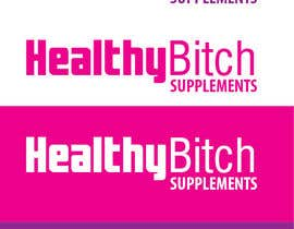#44 untuk HEALTHY BITCH SUPPLEMENTS LOGO PACKAGE oleh hammadraja
