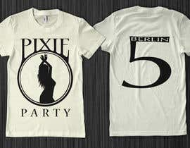 #107 para T-shirt Design for Pixie Services por blastart