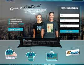 Nro 9 kilpailuun Landing Page for an Apparel Company käyttäjältä Creosol