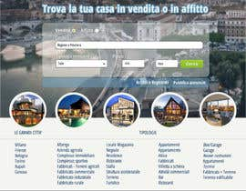 Adeweb tarafından Disegnare la Bozza di un Sito Web for real estate listing website için no 5