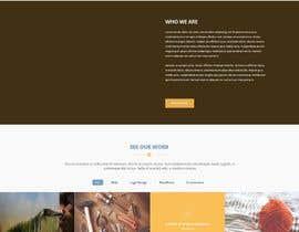 Nro 18 kilpailuun Design a Website Mockup käyttäjältä kalamal